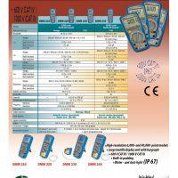 مولتیمتر پرتابل صنعتی مدل DMM210 مولتیمتریکس